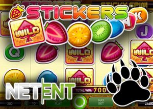 NetEnt's Stickers Free Spins Promotion