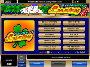 Strike It Lucky Casino Software Preview