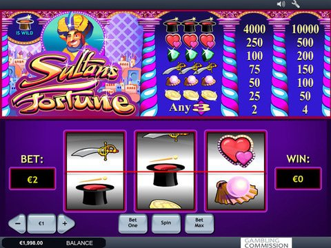 Sultans Fortune Game Preview