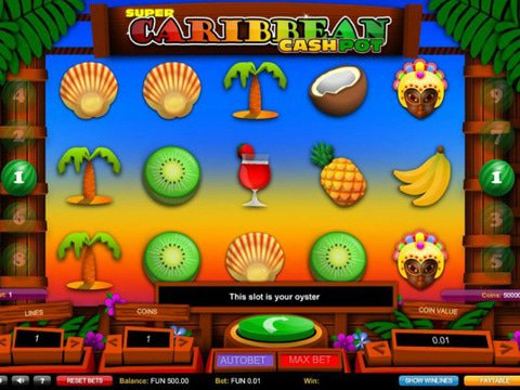 Super Caribbean Cashpot Game Preview