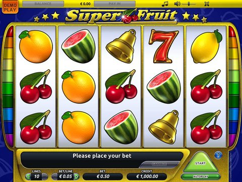 Super Fruit Slot Machine : Simple and Free