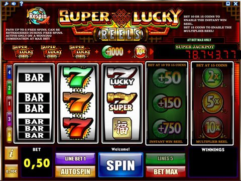 Enjoy Super Lucky Reels Slots With No Download