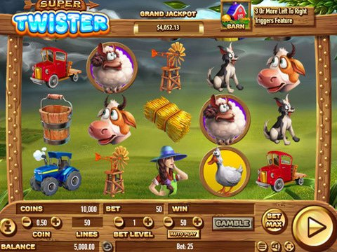 Super Twister Slot Game Review