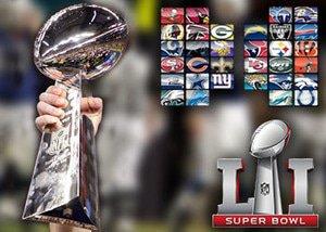 Super Bowl li atlanta falcons new england patriots