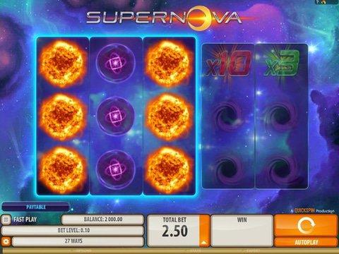 Play Supernova Slot Machine Free With No Download