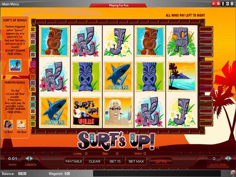 Surfs Up Game Preview