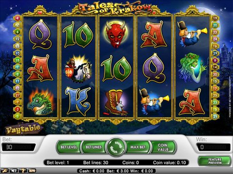 Enjoy the Tales of Krakow No Download Slots Today
