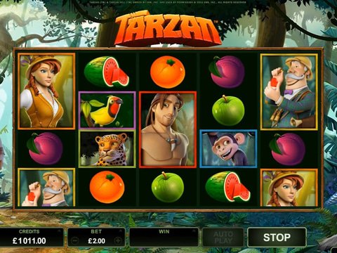 Tarzan Game Preview