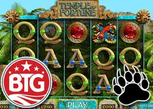 Big Time Gaming Launch Temple of Fortune