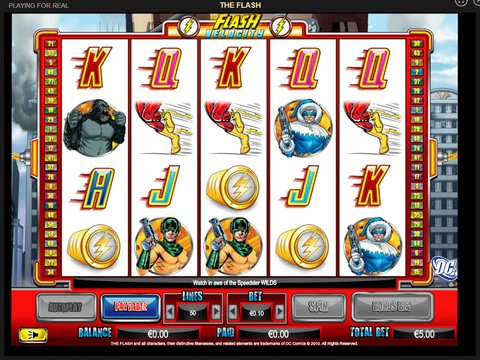 Try The Flash Slots Today With No Download