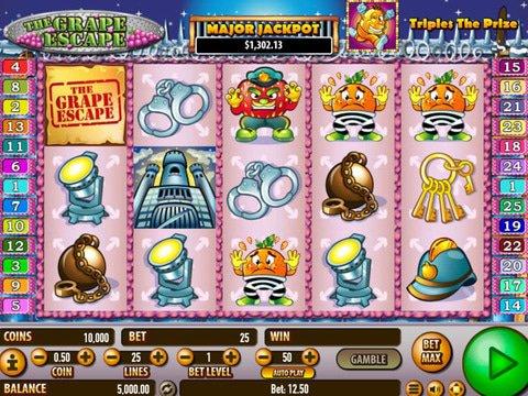 The Grape Escape Slot Machine Demo Review