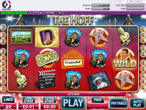 Play The Hoff Slot Machine Free With No Download