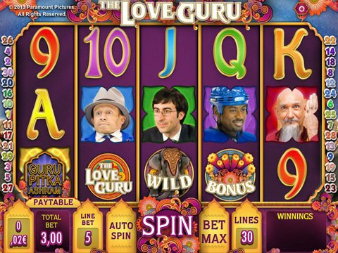 The Love Guru Game Preview