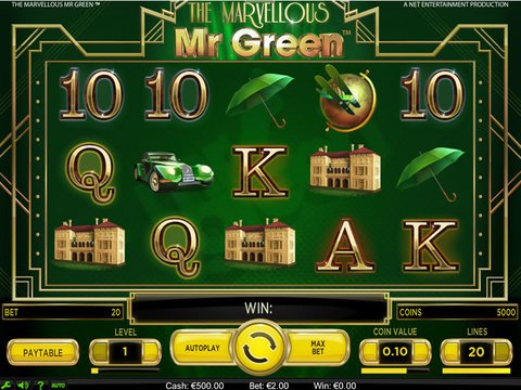 The Marvellous Mr Green Game Preview