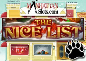 RTG slot machine The Nice List at Majestic Slots