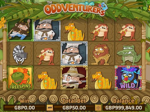 Play The Oddventurers Slot Machine Free With No Download