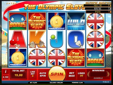 The Olympic Slots Game Preview