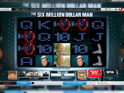The Six Million Dollar Man Game Preview