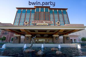 Bwin.Party And Thunder Valley Casino Partnership