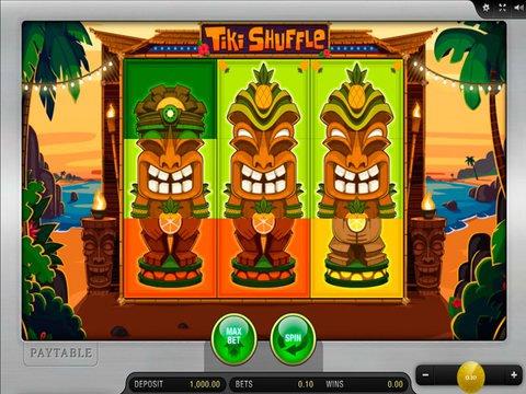 Tiki Shuffle Game Preview