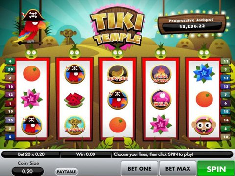 Tiki Temple Game Preview