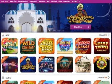 TonyBet Casino Software Preview