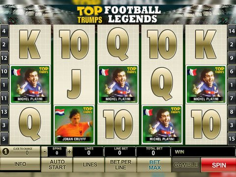 Top Trumps Football Legends Game Preview