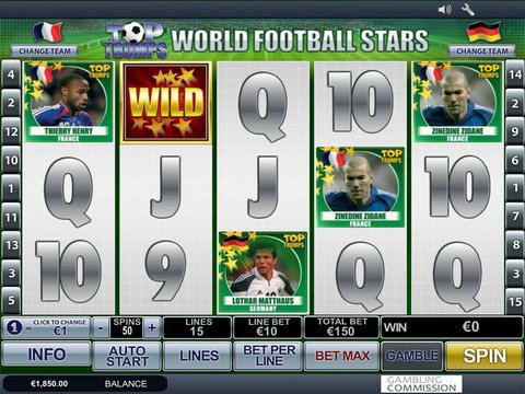 Top Trumps World Football Stars Game Preview