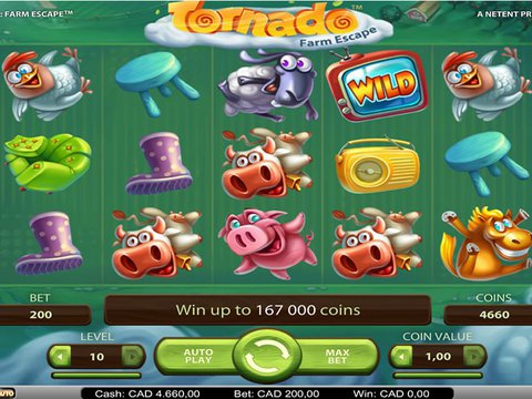 Play Tornado Farm Escape with No Download Neccesary