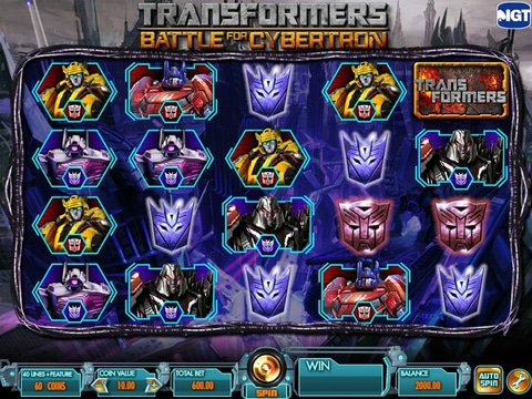 Transformers Game Preview