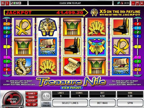 Treasure Nile Game Preview