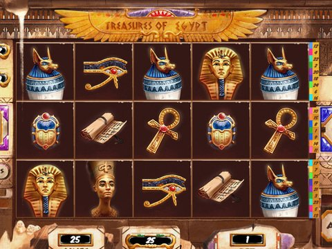 Treasures of Egypt Game Preview