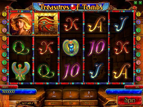 Treasures of Tombs Bonus Game Preview