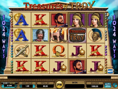Treasures of Troy Game Preview