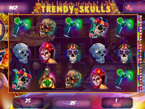Trendy Skulls Game Preview