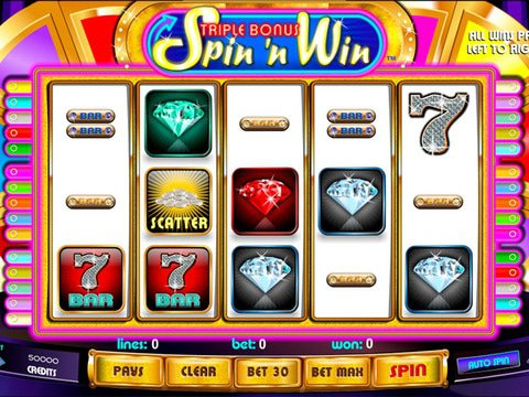 Triple Bonus Spin N Win Game Preview
