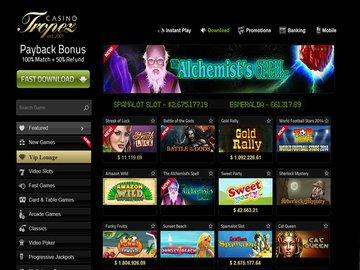 Tropez Casino Software Preview