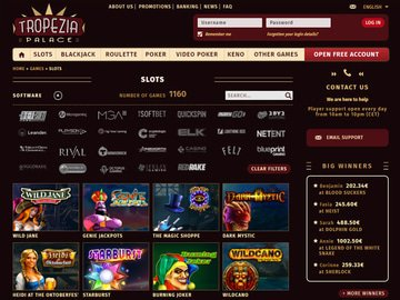 Tropezia Palace Casino Software Preview