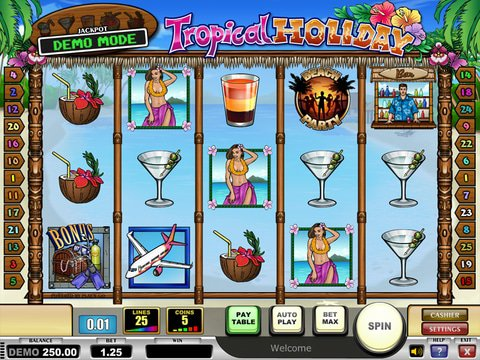 Tropical Holiday Game Preview