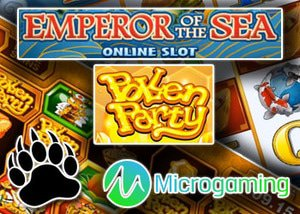 new pollen party slot new emperor of the sea slot microgaming casinos
