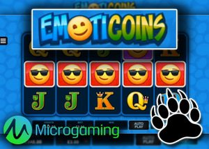 New EmotiCoin Slot + New Oink Country Love Slot at Microgaming Casino