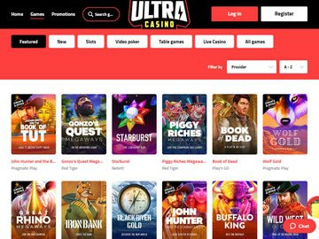 Ultra Casino Software Preview