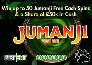 Unibet Casino Jumanji Tournament