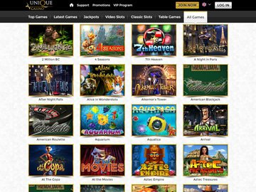 Unique Casino Software Preview