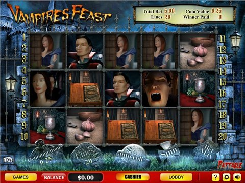 Vampires Feast Game Preview