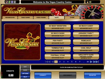 Vegas Country Casino Software Preview