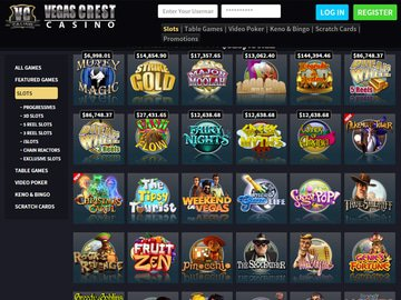 Vegas Crest Casino Software Preview