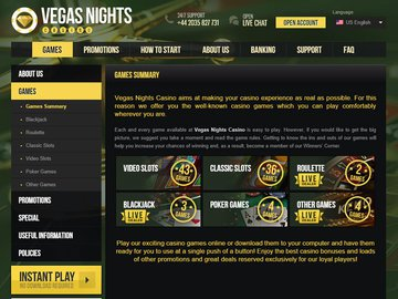 Vegas Nights Software Preview