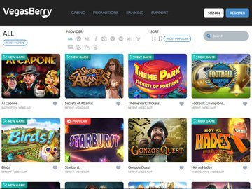 VegasBerry Software Preview