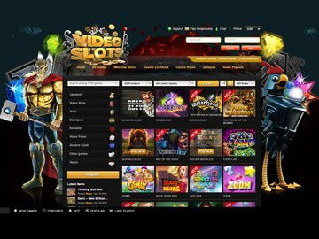 VideoSlots Casino Software Preview